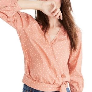 Madewell Cropped Blouse